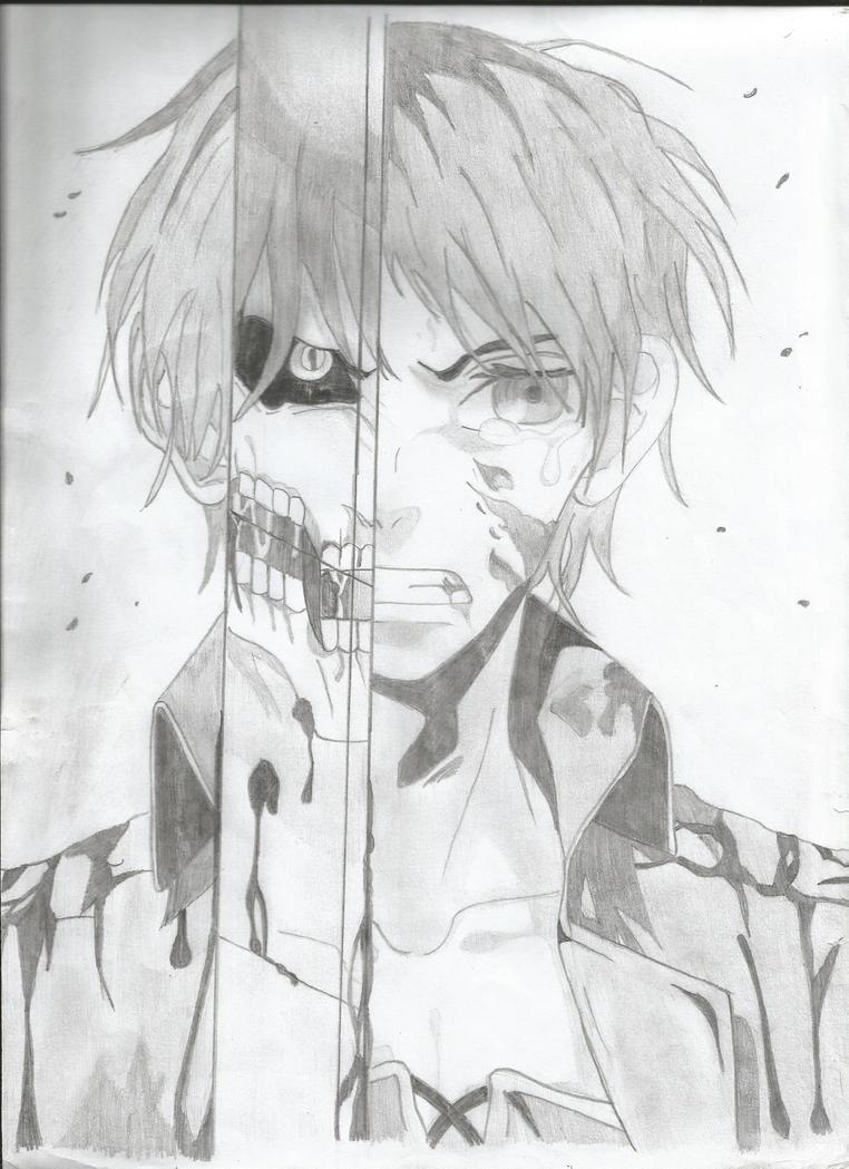 Eren Jaeger - Shingeki no Kyojin by Gisux