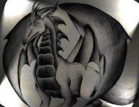 Dark dragon by Minyadagniriel