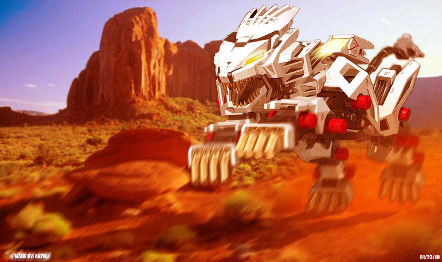 Zoids-The Movie- Liger Zero 02 by 3DRaptor ...