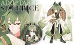[CLOSE]Adoptable SET PRICE : Bamboo cat