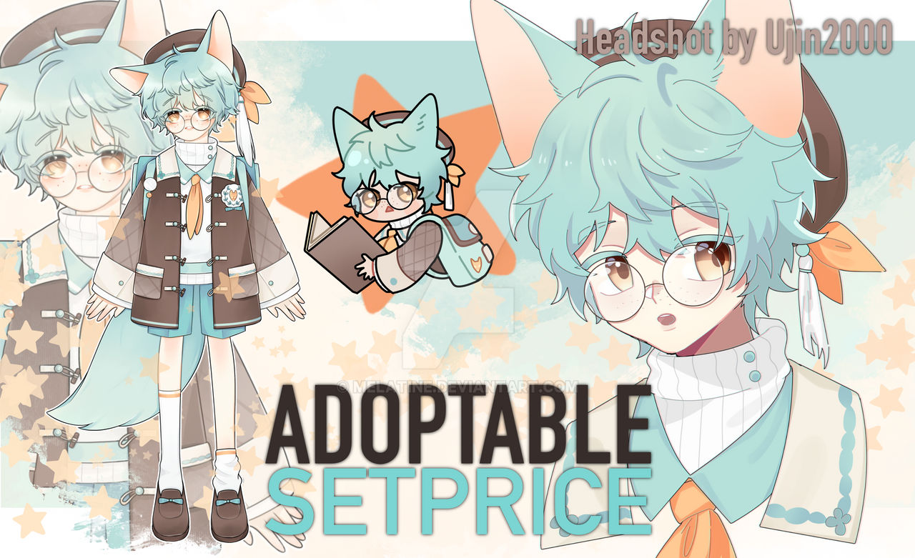 [CLOSE]Adoptable Set Price : Little fox