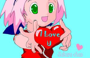 Sakura loves you by mexicananime06