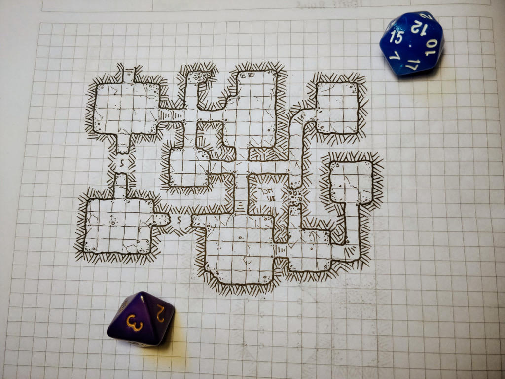 Nameless Dungeon by darquill