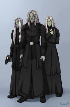 SGA Commission - Wraith trio