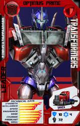 Optimus Prime by CrashElements