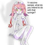 Ebola-chan and Vaccine-senpai