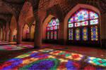 Nasir ol Molk Mosque , Shiraz