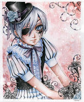 Ciel Phantomhive by lilie-morhiril