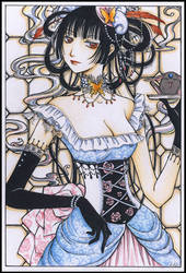 Yuuko colored by lilie-morhiril