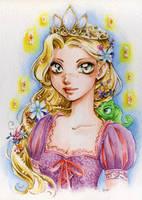Princess Rapunzel by lilie-morhiril