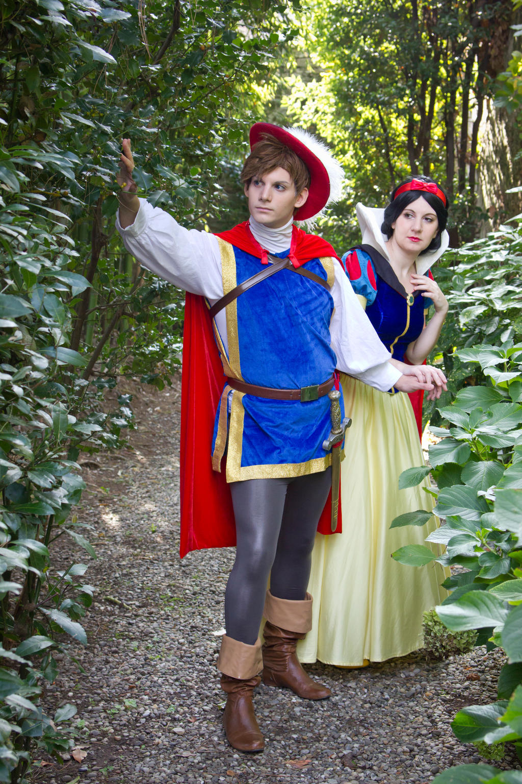 snow white and prince charming by lilie morhiril on deviantart