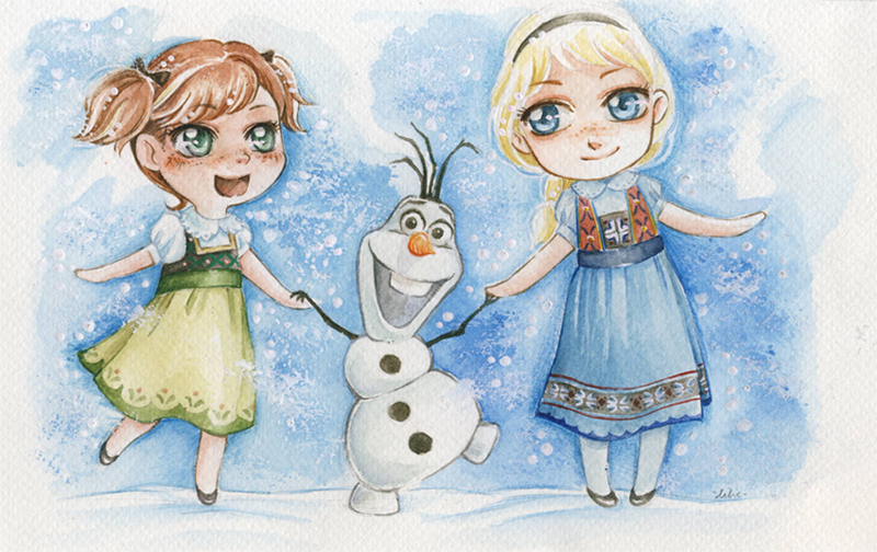 Frozen Xmas by lilie-morhiril