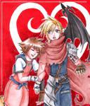 Sora and Cloud