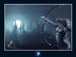 Zodiac: Sagitario by DarthiaWolf