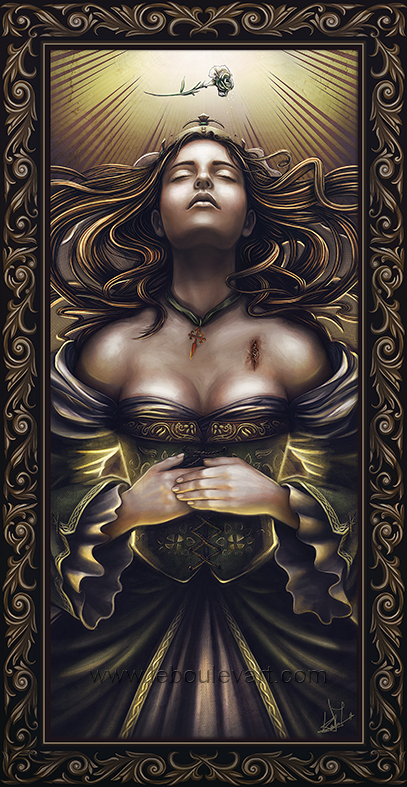 Felicia D'Aquitaine by DarthiaWolf