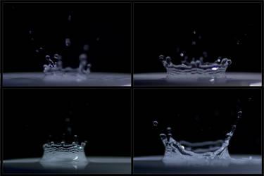 waterdrops in motion