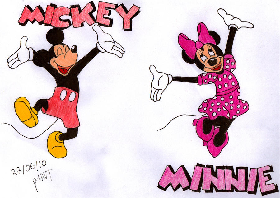 Minnie Writing