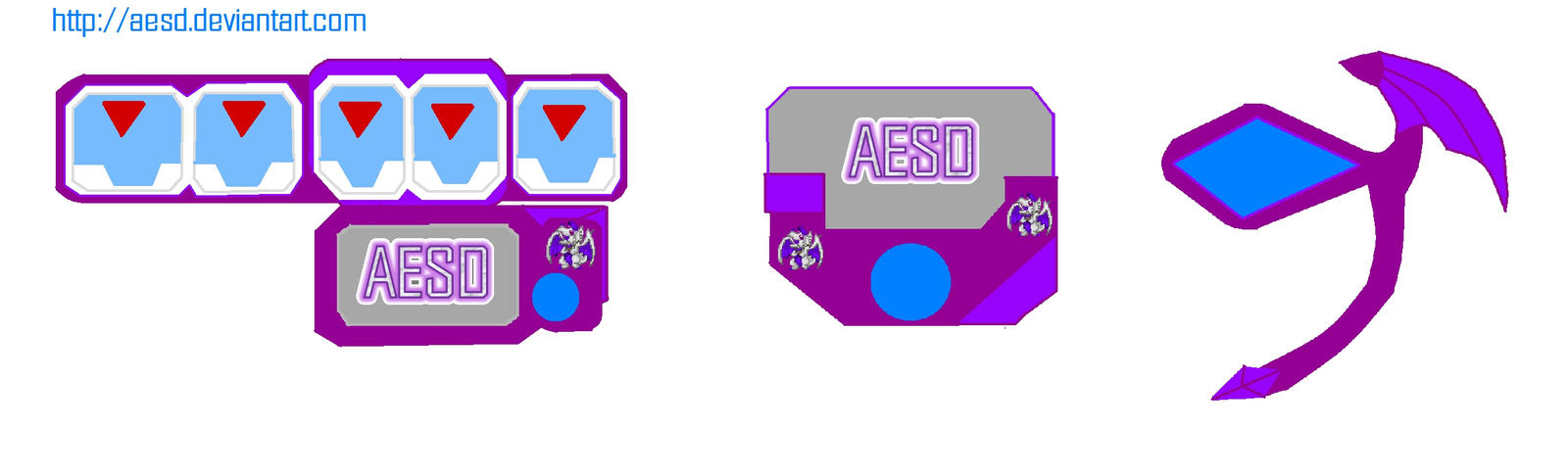 duel disk and d gazer for aesd by aesd on deviantart
