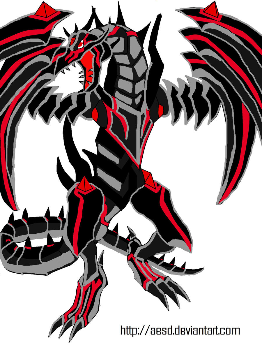 Redeyes Darkness Metal Dragon By Aesd How To Make