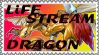Life Stream Dragon Stamp by AESD