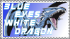 Blue Eyes White Drgn Stamp by AESD