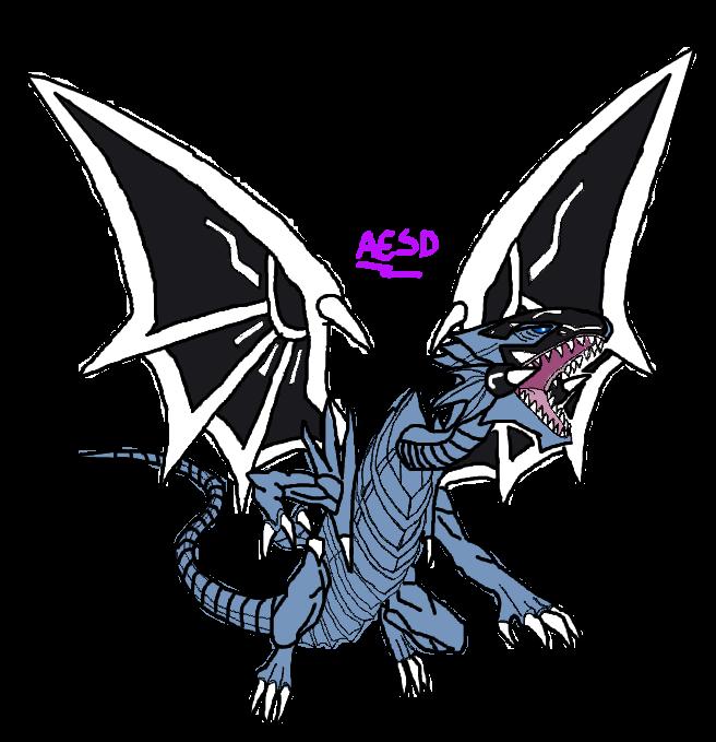 Sin-Malefic Blue-Eyes White Dragon by AESD on DeviantArt