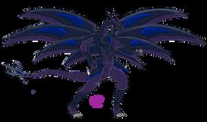 Bakugan Dragonoid: Darkus Primax Zapphiroid