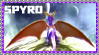 Spyro the Dragon Stamp by AESD