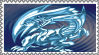 Original Blue-Eyes White Dragon Stamp by AESD