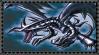 Original Red-Eyes Black Dragon Stamp by AESD