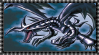 Original Red-Eyes Black Dragon Stamp by AESD