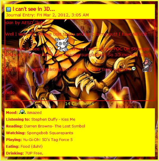 Winged Dragon Of Ra Journal CSS by AESD on DeviantArt I Am Really Sorry Wallpaper