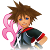 Kingdom Hearts 3D Sora Icon by AESD