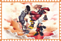 Kingdom Hearts 3D Twilight Stamp by AESD