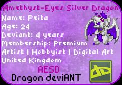deviantArt  Membership Card by AESD