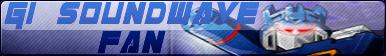 Transformers G1 Soundwave Fan Button