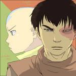 Aang and Zuko - Avatar