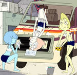 Car wash (Pearl, BD Pearl, YD Pearl) by Pedroillusions