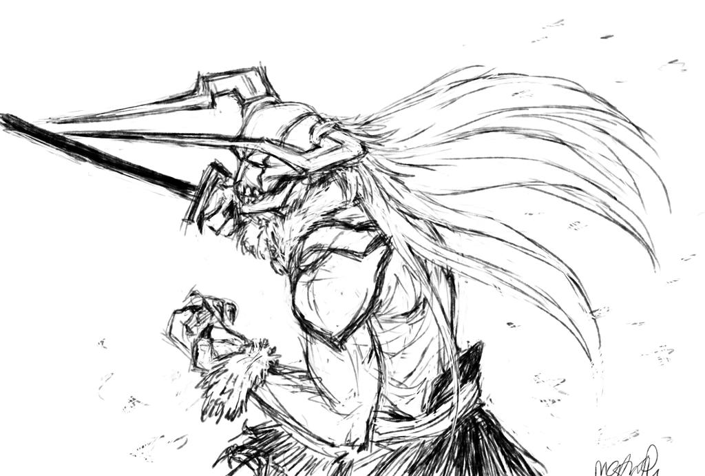 Hollow Ichigo By 23-tiny-wishes On DeviantArt