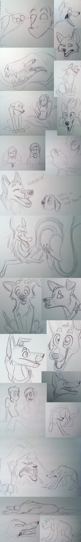 Airplane Doodles by bmbbaby4