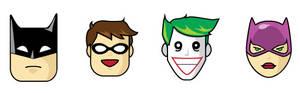 Batman Icons set 1
