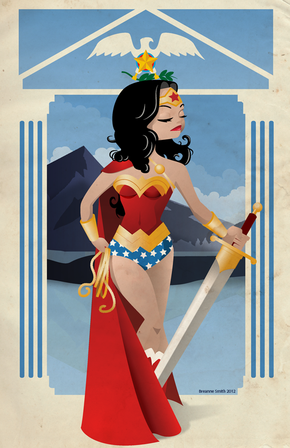 Wonder Woman Nouveau by Sareidia