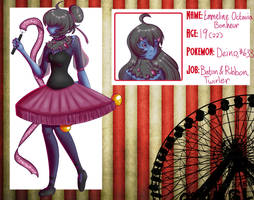 Emmeline- App for Circus Darkrai by tealtoucannon
