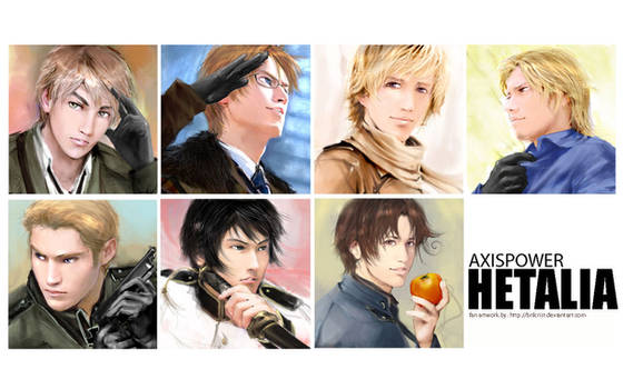 Hetalia:faces of the nations