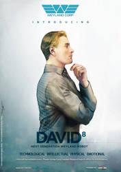 Prometheus DAvid 8 Promotion poster by Brilcrist