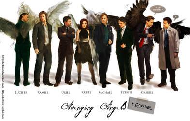 Avengers: avenging angels  concept
