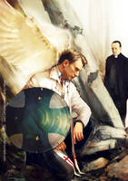 Avenging angel: Steve by Brilcrist