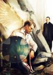 Avenging angel: Steve