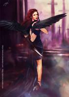 Avenging angel: Natasha by Brilcrist