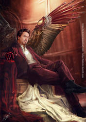 Avenging angel: Tony